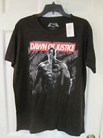 New Superman Batman T Shirt size Large Dawn of Destruction marvel retail $15