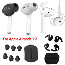 Soft Silicone Ear Tips Buds Pads & Earbuds Cover For  Airpods 2 1 Earphones