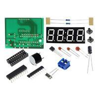 1set 4 Bits LED Digital Elektronische Uhr C2051 DIY.Kit Clock duction-Suite E4A2