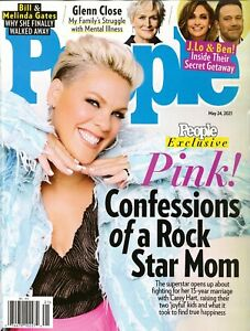 PEOPLE MAGAZINE - MAY 24, 2021 - PEOPLE EXCLUSIVE - PINK!
