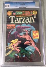Tarzan Giant #238 1975 DC Comic Book CGC 8.0 Joe Kubert Edgar Rice Burroughs