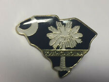 SOUTH CAROLINA STATE LAPEL PIN HAT TAC NEW