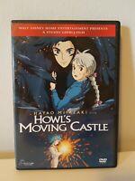 Howl's Moving Castle DVD Hayao Miyazaki (English, French, Japanese audios)