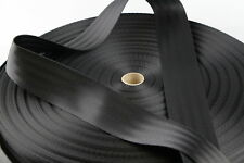 Seat Belt Webbing 100mts 50mm BLACK Sewing Horse rugs, bags, tents, canvas,cars,