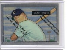 1996 Topps Finest Mickey Mantle Commemorative Set '51 Bowman Reprint Card #1
