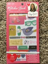 American Crafts Sticker Book Designed By PAIGE EVANS - 1163 Pieces 344867 NEW