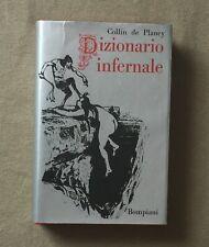 Collin De Plancy - IL DIZIONARIO INFERNALE - 1a ediz. Bompiani 1969 ill. Breton