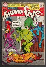 SHOWCASE #63 1966 VG/FN INFERIOR FIVE WH PAGES! PARODY ON THE AVENGERS+HULK!
