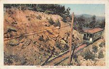c.1915 Trolley Car in Trolley Cut Rockaway NJ post card