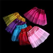 Princess Tutu Skirt Girls Kids Party Ballet Dance Wear Pettiskirt Dress Cloth DS