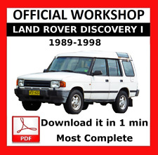 >> OFFICIAL WORKSHOP Manual Repair Land Rover Discovery I 1989 - 1998
