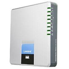 Linksys Cisco SPA400 4 Port FXO POTS VOIP SIP Gateway 1GB Voice Mail