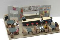 JLI 349 HO 1/87 CAFE DINER INTERIOR DETAILS METAL KIT TRAIN DETAILS FREE SHIP