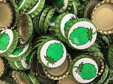 100 ((Hop)) beer bottle Caps NO DENTS. Free Shipping.