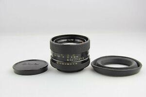 Rollei HFT Planar 50mm 1:1.4 QBM Mount # 5979