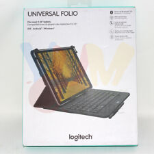 """Logitech Universal Folio with Integrated Bluetooth 3.0 Keyboard for 9-10"""""""
