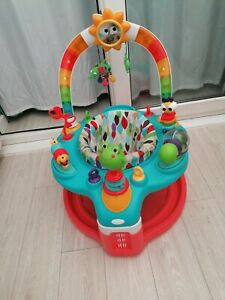 Bright starts bounce around Activity gym centre jumperoo musical