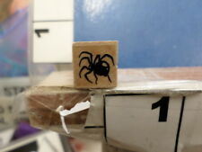 spider insect RUBBER STAMP 5Q