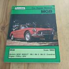 MGB MOTOR CAR BOOK 160 PAGES SOFTCOVER