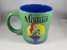 The Little Mermaid Mug 20oz Green Blue Disney Licensed NEW