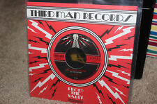 "The White Stripes 7"" Vault only Vinyl Record. Let you down b/w Rita Blues"