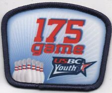 USBC 175 GAME YOUTH BOWLING PATCH: FREE SHIPPING!!!