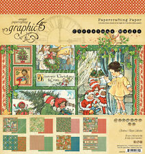 Graphic45 CHRISTMAS MAGIC 8x8 PAPER PAD scrapbooking (24) SHEETS (8) DESIGNS