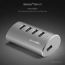 BlitzWolf BW-H1 4 Port Aluminum USB 3.0 Hub High Speed 5Gbps For Computer Laptop