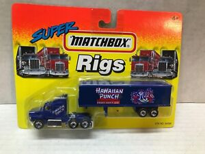 VINTAGE 1994 MATCHBOX SUPER RIGS HAWAIIAN PUNCH TRACTOR TRAILER  SEALED