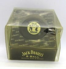 Jack Daniel's Old No. 7 Tennessee Whiskey Black 8 Ball Pool Ball in Package 2003