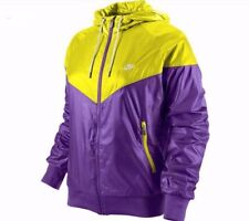 Nike Sportswear Women's Windrunner Jacket Shiny Purple NSW Large 341297-502