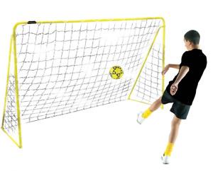 Kickmaster 6ft Training PREMIER Steel Metal Frame Football Goals Garden✅Practice