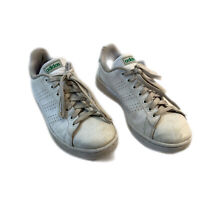 Adidas Mens White Cloudfoam Lace Up HWI 28Y001 Athletic Running Shoes Size 8