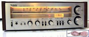 🔥【PRO SERVICED】MINTY Technics SA-300 Stereo 70W Receiver!Phono💥60-DAY GUARANTY
