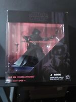 "STAR WARS BLACK SERIES KYLO REN STARKILLER BASE K-MART EXCLUSIVE 6"" INCH FIGURE"