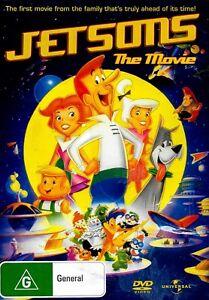Jetsons: The Movie -Rare DVD Aus Stock -Family New Region 2,4,5