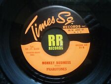THE PHAROTONES - MONKEY BUSINESS US TIMES SQ. RECORDS R&B / DOO WOP