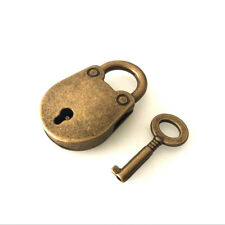 1pc Chinese Style Vintage Padlock Notebook Lock Luggage Belt Padlock with Key