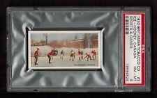 PSA 8 1930 ICE HOCKEY CARD British American Tobacco Sports and Games #3