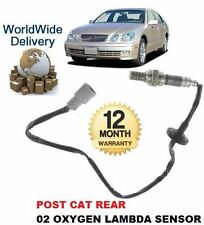 FOR LEXUS GS430 4.3i 2000-2005 REAR POST CAT 02 OXYGEN LAMBDA SENSOR