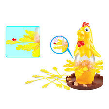Pluck Hen Chicken Drop Table Top Board Game Lucky & Strategy Brainteaser Toy