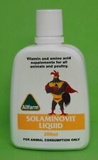 Solminovit Liquid 200ml- chickens, duck, birds, poultry vitamins