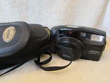 De Colección Cámara Pentax Zoom 105 Super + Estuche toma película 35mm-Usado -
