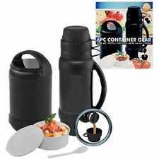 NUOVO CONTENITORE 6pc di alta qualità Gear Cibo Bevande All'Aperto Pallone BARATTOLO caffè tè caldo