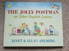 The Jolly Postman Or Other People's Letters Janet & Allan Ahlberg Hardcover NEW