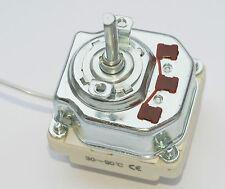 3 Polig Thermostat 30-90°C Heizgerät/Heizelement Bain marie Universa 16A 380V