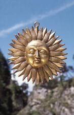 Sonne Messing 19cm 1.1kg Gold
