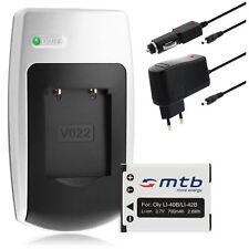 Cargador+Bateria Li-40b/Li-42b para Olympus LS-20M, DS-3500,DS-7000,X-935, X-960