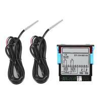 EW-801 Digital Solar Water Heater Temperature Controller Thermostat + 2pc Sensor