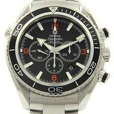 Authentic OMEGA REF. 2210 51 Seamaster Planet Ocean Chrono Automatic  #260-00...